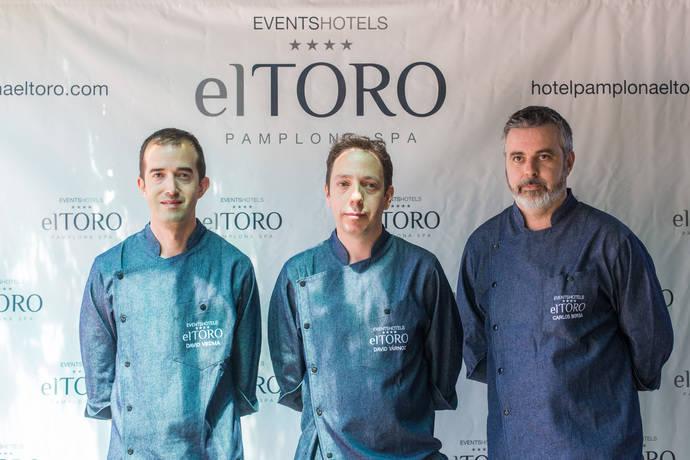 El Hotel Pamplona El Toro ficha a David Yárnoz