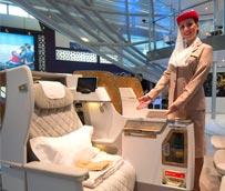 Emirates presenta su nueva butaca de Business Class para los B777