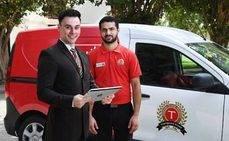 Emirates presenta el servicio 'check-in' desde casa