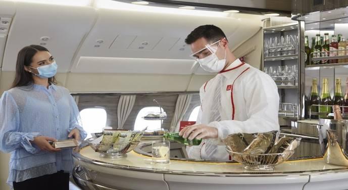Emirates rediseña su exclusiva experiencia a bordo