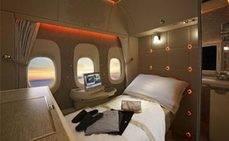 Emirates presenta la nueva Suite privada de First Class