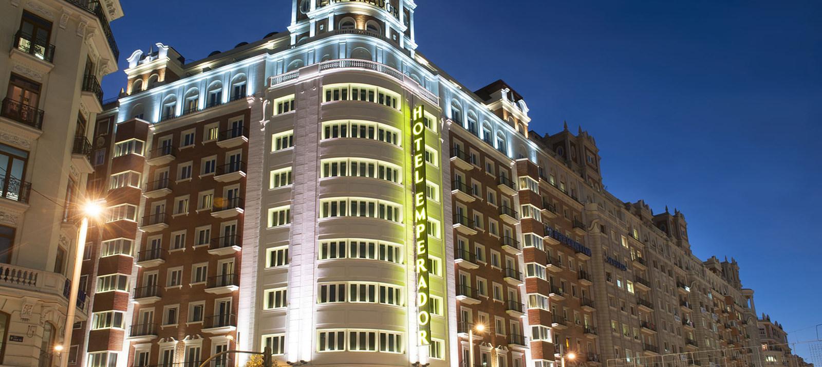 El hotel emperador un 39 oasis de lujo 39 en madrid nexotur - One shot hotels madrid ...