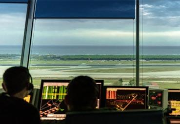 Enaire registra un 60% menos de vuelos que en 2019