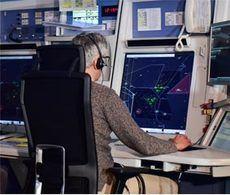 Enaire suma un 65% menos de vuelos en el mes de mayo