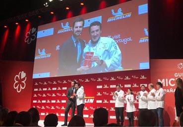 El restaurante del Euskalduna, con estrella Michelin