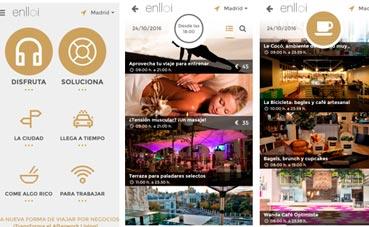 'App' de ocio y soluciones para los viajeros de negocios