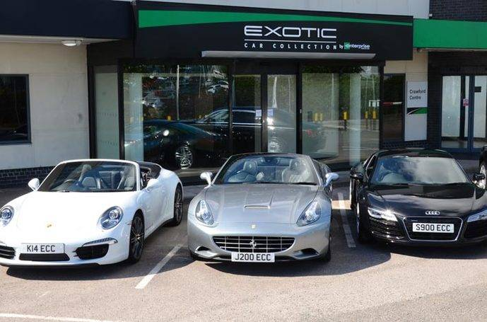 Enterprise extiende su servicio Exotic Car a Europa