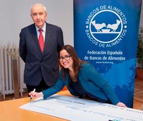 Enterprise colabora en la lucha contra el hambre en España
