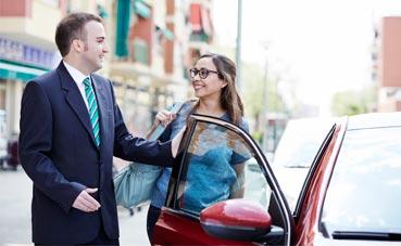 Muchos viajeros de negocios no revisan sus vehículos