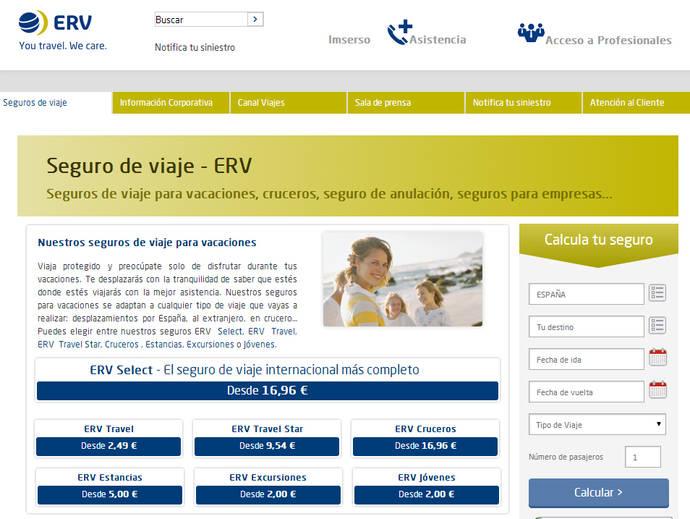 ERV, aseguradora mejor valorada por segundo año