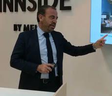 El consejero delegado de Meliá Hotels International, Gabriel Escarrer.