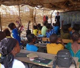 atlanta travel colabora en la construcción de una escuela en Senegal