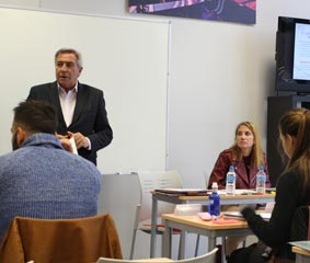 La AFE da una charlas formativas en ESODE Business School