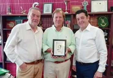 El Grupo NEXO reconoce el trabajo de Ramón Estalella