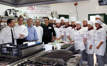 Abre el restaurante pedagógico en el Palacio de Estepona