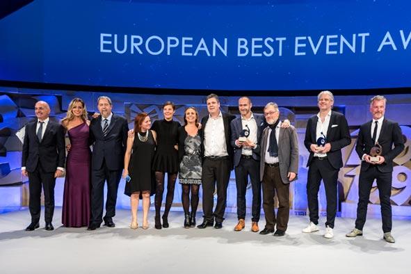 EUBEA premia a los mejores eventos de Europa en una gala en Sevilla