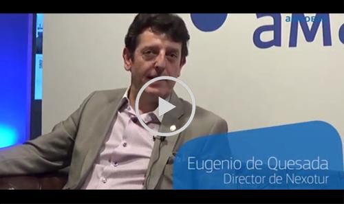 El director de NEXOTUR, Eugenio de Quesada, en 'El chester de Amadeus'