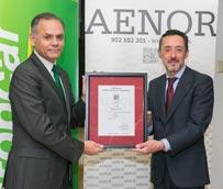 Europcar recibe la certificación ISO 39001 de Aenor sobre seguridad vial