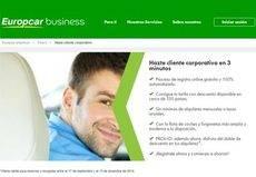 Europcar facilita el servicio de alquiler a clientes corporativos
