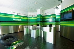 Una oficina de Europcar.