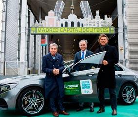 Europcar España renueva su acuerdo de patrocinio con el Mutua Madrid Open