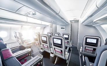Eurowings presenta su nueva tarifa de vuelo BIZclass