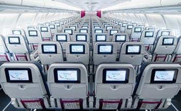 Eurowings ofrece Internet en sus Airbus A320