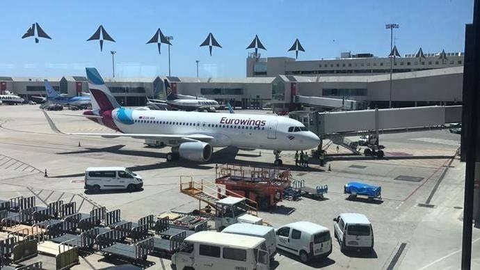 Eurowings estrena base en Palma de Mallorca