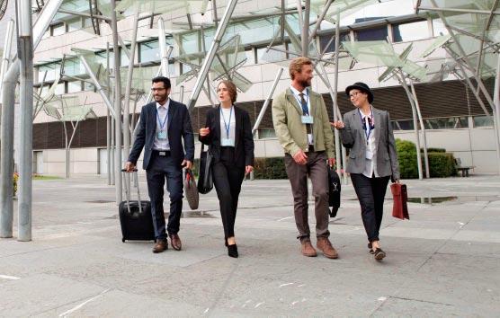 El 17% de los turistas que visitan el País Vasco acuden por motivos profesionales