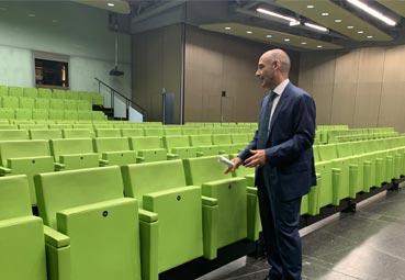 Euskalduna presenta los nuevos aforos de sus salas