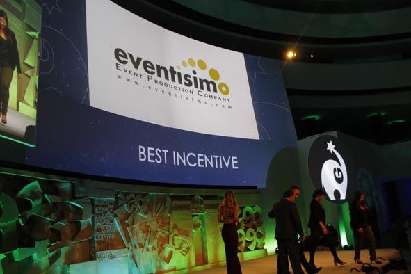Eventisimo es premiada por organizar el mejor incentivo de Europa