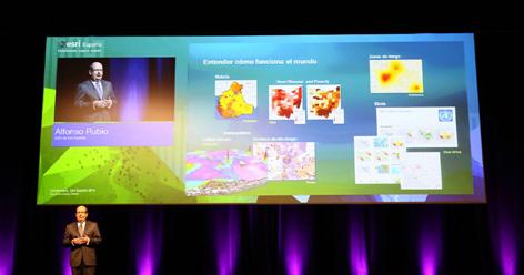 Más de 2.000 profesionales acudirán a una conferencia en Madrid sobre 'mapas inteligentes'