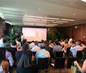 Vértigo organiza la presentación de nuevos productos de Juver