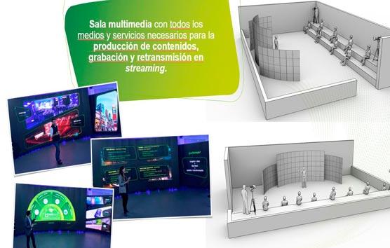 Locale ofrece un espacio multimedia para eventos
