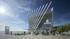 El pabellón de Emirates, listo para la Expo 2020 de Dubái