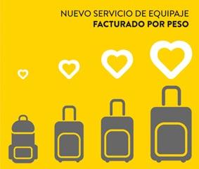 Vueling mejora su política de equipaje facturado
