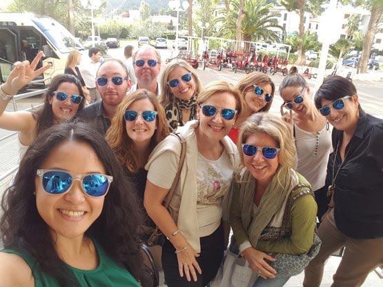 Mallorca organiza un 'fam trip' para agencias españolas