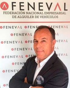 El presidente de Feneval, Juan Luis Barahona.