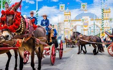 Los hoteles de Sevilla, al 86% de ocupación en Feria