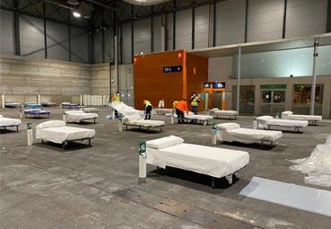 Ifema tendrá un hospital de campaña con 5.500 camas