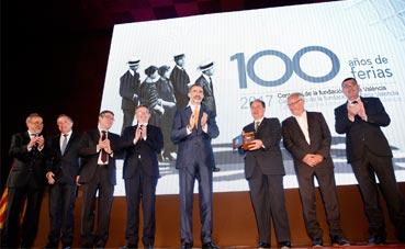 El Rey Felipe VI preside el centenario de Feria Valencia