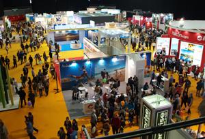 Afluencia masiva de compradores a la primera Feria del Viaje de Globalia