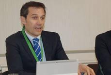 El presidente de Fetave, César Gutiérrez.