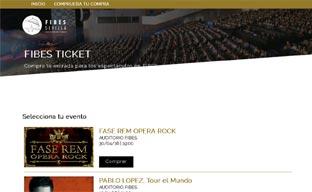 Fibes crea una plataforma 'online' de venta de entradas