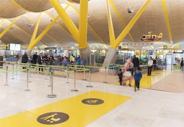 Filomena, un nuevo escollo para los aeropuertos