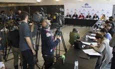 La presentación de los resultados de 2015 de Fira de Barcelona.
