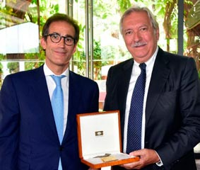 Fira de Barcelona reconoce el trabajo de Javier Riera-Marsá