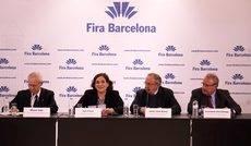 La presentación de los resultados de Fira de Barcelona en el ejercicio de 2017.