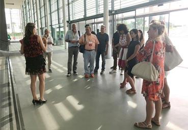 firaReus muestra sus espacios a agencias alemanas