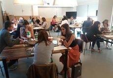 Agencias italianas visitan los espacios de firaReus